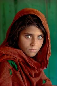 Afghan Girl, Pakistan, 1984