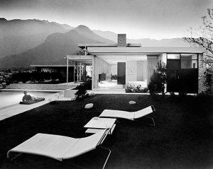 Julius Shulman, Kaufmann House, photo 1947