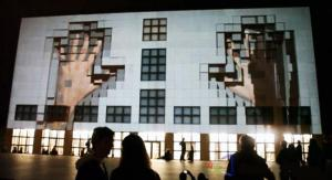 Kunsthalle, Hamburg, 3d projection