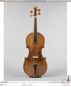Violin, Antonio Stradivari, 1693