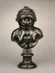 Hendrick de Keyser, Bust of A Crying Child, c. 1615, bronze with traces of silver (#(M.84.37)