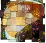Klimt on the web: 26 Danaes