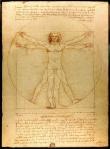 Leonardo da Vinci, Vitruvian Man, 1485-90, Galleria dell' Accademia, Venice (image: Luc Viatour / www.Lucnix.be)