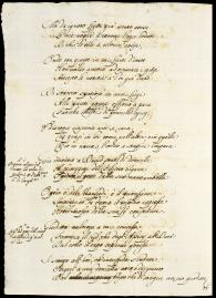 Pietro Mellini, Inventory in Verse, 1681 (Getty Research Institute, #860066, fol. 8verso)