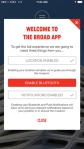 The Broad mobile app