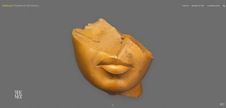 Fragment of a Queen's Face, New Kingdom, Amarna Period, yellow jasper (image: The Metropolitan Museum of Art, Edward S. Harkness Gift, 1926, Acc. No. 26.7.1396)