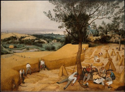 Pieter Bruegel the Elder, The Harvesters, 1565 (Acc. No. 19.164; courtesy The Metropolitan Museum of Art)