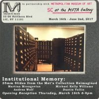 Institutional Memory: 35mm Slides from the Met's Collection