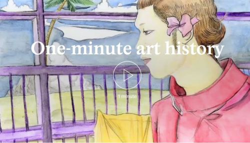 One minute art history video