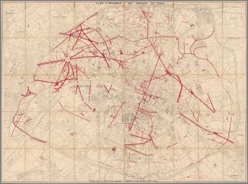 Eugene Andriveau-Goujon, Plan d'ensemble des travaux de Paris, 1868